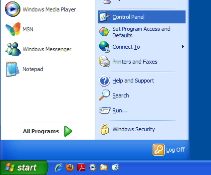 how to open pages file on windows xp